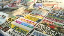 A photograph of some the Newspapers both public and privately owned in Kenya. Photo by BBC.com