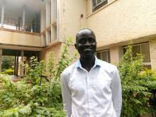 Mawel Chol Mawel an aspiring journalist from South Sudan
