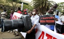 Kenya`s press must fight to protect its freedom. Photo by Thomas Mukoya.