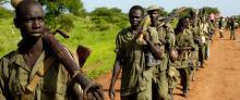 South Sudan a war zone